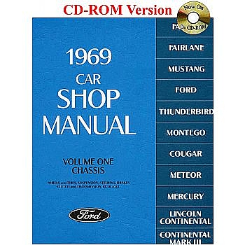 1969 ford car shop manual rh falconparts com 1986 Ford Mustang Repair Manual 1965 Ford Shop Manual