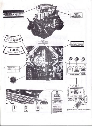 Stihl Blower Parts Diagram furthermore 1977 Ford F 250 Engine Diagram further 150 Fuel Filter Location On 1990 Ford Bronco moreover 614297 Pertronix Install Got Some Questions Need Help together with What Is The Firing Order For A Ford 390 Engine. on ford f 250 460 engine diagram