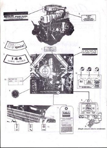 1961 ford falcon parts catalog