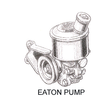 1963 1965 Eaton Power Steering Pump Seal Kits