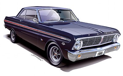 1960-1970 Ford Falcon & Mercury Comet Restoration hardware