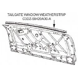 ford falcon tailgate parts diagram  ford  auto wiring diagram