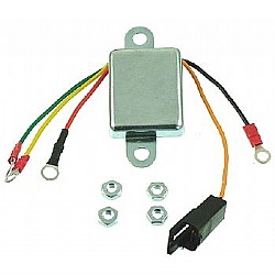 ONE WIRE VOLTAGE REGULATORS FOR ALTERNATOR Wiring Voltage Regulator on